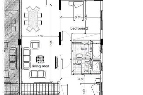 apartment 104 plan